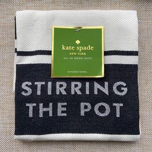 'STIRRING THE POT' Kitchen Towel (NWT)